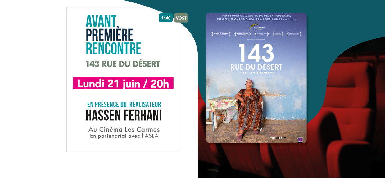 Photo du film 143 Rue du Désert