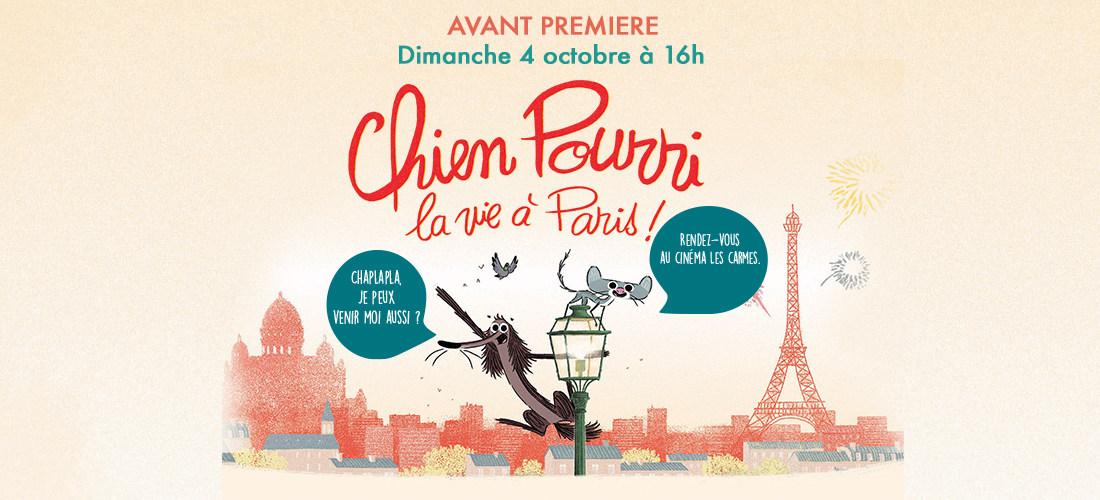 Photo du film Chien Pourri, la vie à Paris !